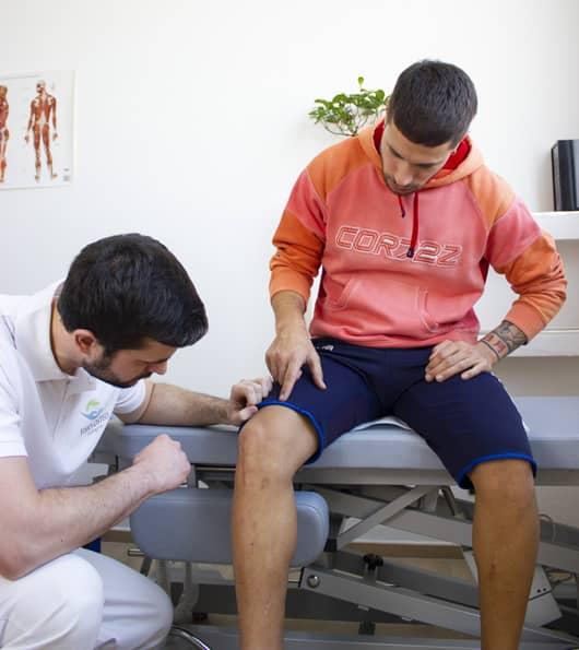 massimo benfenati, fisioterapista, crea un rapporto di fiducia col paziente