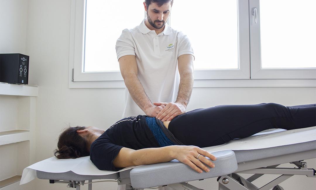 trattamento di fisioterapia per alleviare i dolori mestruali